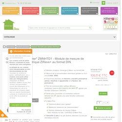 """QUBINO """"Smart Meter"""" ZMNHTD1 - Module de mesure de consommation électrique ZWave+ au format DIN - www.domotique-store.fr"""
