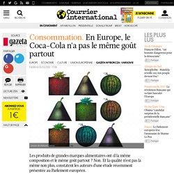 CONSOMMATION. En Europe, le Coca-Cola n'a pas le même goût partout