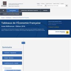 Consommation des ménages−Tableaux de l'Économie Française