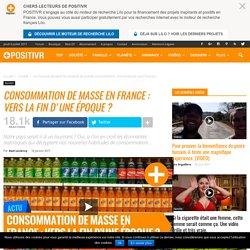 Consommation de masse en France : vers la fin d'une époque ?