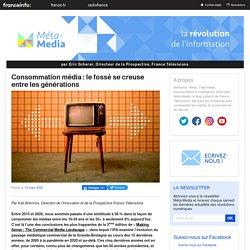 Consommation média : le fossé se creuse entre les générations