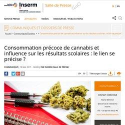 Consommation précoce de cannabis et influence sur les résultats scolaires