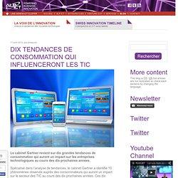 Dix tendances de consommation qui influenceront les TIC