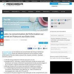 [slides] consommation de l'information sur internet en France et aux Etats-Unis