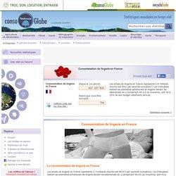 Consommation de lingerie en France
