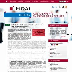 Refonte du code de la consommation (une nouvelle fois) par voie d'ordonnance - FIDAL avocats : le blog