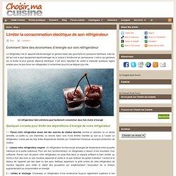 Limiter la consommation électrique de son réfrigérateur