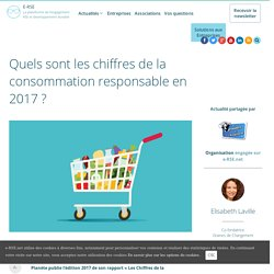Quels sont les chiffres de la consommation responsable en 2017 ?