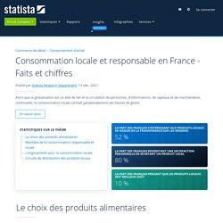 Consommation locale et responsable en France - Faits et chiffres