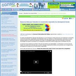 Education à la consommation - Ressources vidéos pour l'éducation à la consommation