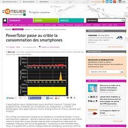 PowerTutor passe au crible la consommation des smartphones