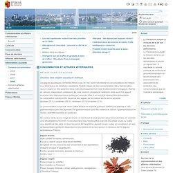 Etat de Genève > Consommation et affaires vétérinaires > Métaux dans les algues