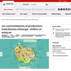 Les consommations et productions franciliennes d'énergie : chiffrer et analyser
