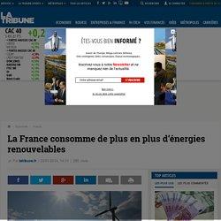 La France consomme de plus en plus d'énergies renouvelables