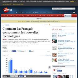 Comment les Français consomment les nouvelles technologies - ZDNet.fr