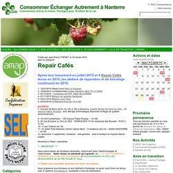 Repair Cafés « Consommer Échanger Autrement à Nanterre