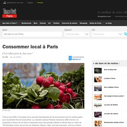 Consommer local à Paris