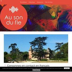 Consonnes en contact en français