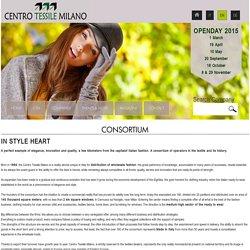 CONSORTIUM - Centro Tessile Milano