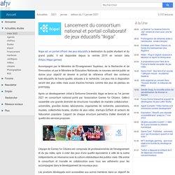 Ikigai : consortium national et portail collaboratif de jeux éducatifs