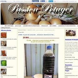 29 MAI - le purin de consoude ....la boisson vitaminée de l'été.... - PASSION POTAGER