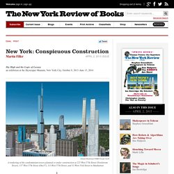 New York: Conspicuous Construction by Martin Filler