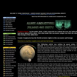 Cosmic Conspiracies - Europe's Largest UFOs and Aliens Database