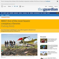 MH17: five of the most bizarre conspiracy theories