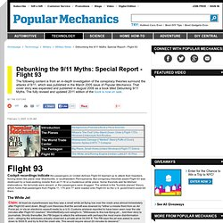 9/11 Conspiracy Theories - Debunking the Myths - Flight 93