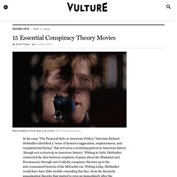The 15 Best Conspiracy Theory Movies and Paranoid Thrillers