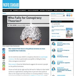 Who Falls for Conspiracy Theories?
