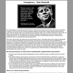Conspiracy - Tom Montalk