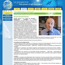 CV de Vincent Pacini