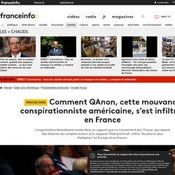 Comment QAnon, cette mouvance conspirationniste américaine, s'est infiltrée en France