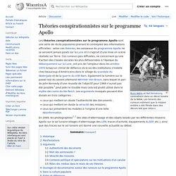 Rumeurs sur le programme Apollo