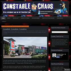 Constable Chaos – UK Police Blog