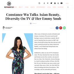 Constance Wu Fresh Off The Boat Beauty Interview