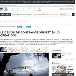 Le design de Constance Guisset en 10 créations