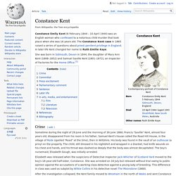 Constance Kent - Wikipedia