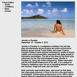 Constant Dullaart: Jennifer in Paradise
