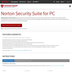 Constant Guard - Norton Security Suite for PC