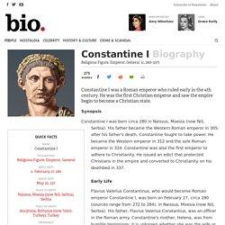 Constantine I - Religious Figure, Emperor, General