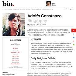 Adolfo Constanzo Biography
