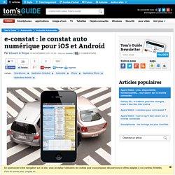 e-constat : le constat auto numérique pour iOS et Android