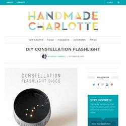 DIY Constellation Flashlight