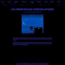 Les constellations - Les légendes célestes
