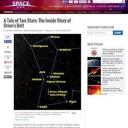 A Tale of Two Stars: The Inside Story of Orion's Belt