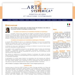 Arte Systemica - Constellations systémiques et constellations familiales -