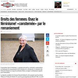 Droits des femmes: Osez le féminisme! «consternée» par le remaniement
