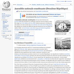Assemblée nationale constituante (Deuxième République)